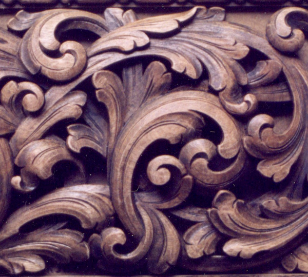 Acanthus/Baroque Carving
